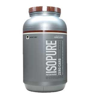 Nature's Best Zero Carb Isopure Review