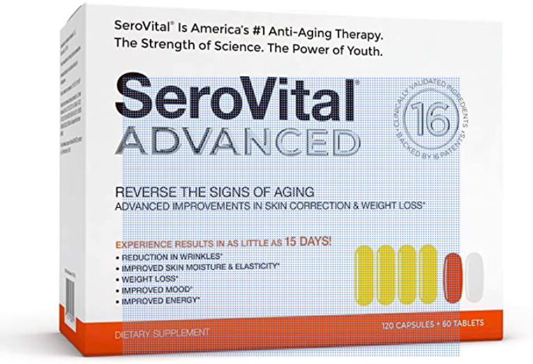 Serovital Advanced HGH for women